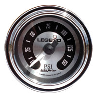 Legend LED Backlit Air Gauge-Titanium