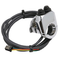 Legend Chrome Handlebar Control for AERO Kits