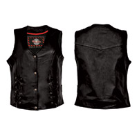 Interstate Leather Women's Dixie Leather Vest