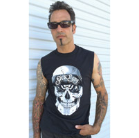 Sick Boy Unstoppable Bandana Skull Sleeveless T-shirt