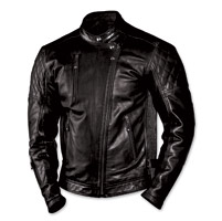 Roland Sands Design Men's Clash Black Leather J