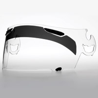 InVision SPEED TINT Sun Down Visor