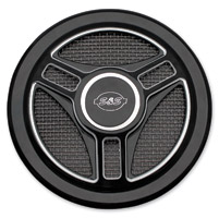 S&S Cycle Tri-spoke Air Cleaner Cover