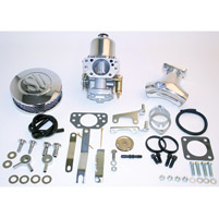 Rivera Primo Eliminator II SU Chrome Carb Kit w/ Upswept Manifold
