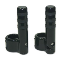Lindby Custom Gloss Black Clamp-on Footpeg for Magnumbar