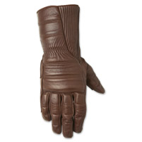 Roland Sands Design Judge Men's Tobacco Gauntlet Gloves