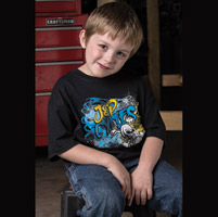 J&P Cycles® Skull Tooth Youth T-shirt