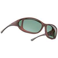 Cocoons Burgandy Sunglasses w/ Gray Lens