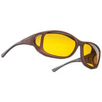 Cocoons Burgandy Sunglasses w/ Yellow Lens