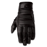 Roland Sands Design Ronin Men's Black Leather Gloves