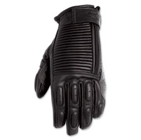 Roland Sands Design Giesel Ladies Black Leather Gloves