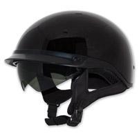 Zox Roadster DDV Black Half Helmet