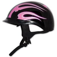 Zox Roadster DDV Dante Pink Half Helmet