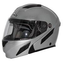 Zox Brigade SVS Silver Modular Helmet