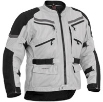 Firstgear Adventure Mesh Silver/Black Jacket