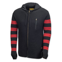 Roland Sands Design Folsom Red/Charcoal Sweater Hoodie