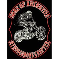 Sons of Arthritis Hydrocodone Back Patch