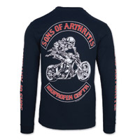 Sons of Arthritis Men's Ibuprofen Chapter Black Long-Sleeve T-shirt