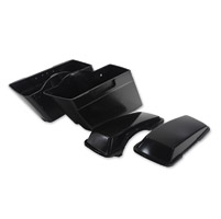 Tedd's Plastic Saddlebags Set With Lids