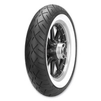 Metzeler ME888 130/80B17 Wide Whitewall Front Tire