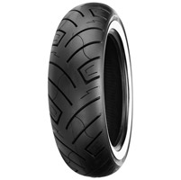 Shinko 777 180/65-16 Wide Whitewall Rear Tire