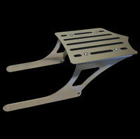 BDD Custom Polished Slot Luggage Rack for Sportster Models