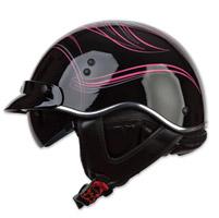 LS2 SC3 Pink Crazy Half Helmet