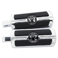Jack Daniel's Chrome Motorcycle Footpegs