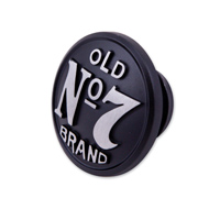 Jack Daniel's Wrinkle Black Vented Gas Cap