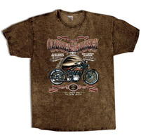 Hot Leathers Ol' Bikes & Whiskey T-shirt