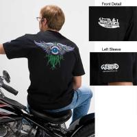 Wizzard Legends of Pinstriping Collection 'Tribute to Von Dutch Chrome Eye' T-shirt