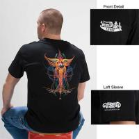 Wizzard Legends of Pinstriping Collection 'Dripping Eye with Wings' T-shirt