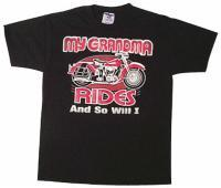 J&P Cycles® 'Grandma Rides and So Will I' T-shirt