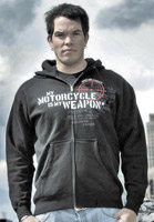 Speed and Strength My Weapon Zip Hoody