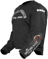 Speed and Strength My Motorcycle is My Weapon Textile Jacket