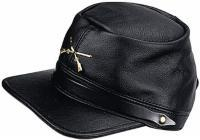 Carroll Leather Civil War Hat