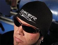 Biker Trash Flame Shorty Beanie