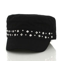 ZAN Studded Military Highway Honeys Cap