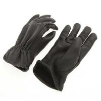 J&P Cycles Fleece Lined Deerskin Riding Gloves