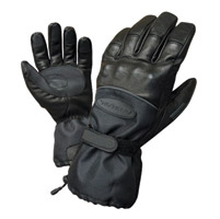 Olympia Black Cold Throttle Gloves