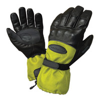 Olympia Black-Hi-Viz Cold Throttle Gloves