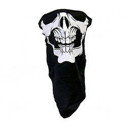Hot Leathers Skull Face Cover
