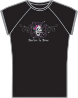 Lethal Threat Bad to the Bone T-shirt