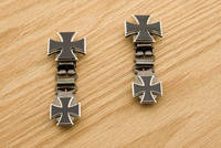 Ryder Clips Maltese Cross Laced  Front Clips