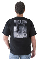 Biker Trash Men's Fatty Black T-Shirt