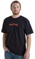 Biker Trash Men's Wicked Black T-Shirt
