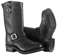 River Road Men's Twin Buckle Engineer Boots