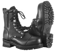 River Road Men's Double Zipper Field Boots
