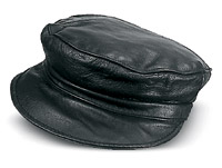 Carroll Leather Riding Cap