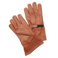 J&P Cycles® Thinsulate Brown Gauntlet-style Gloves